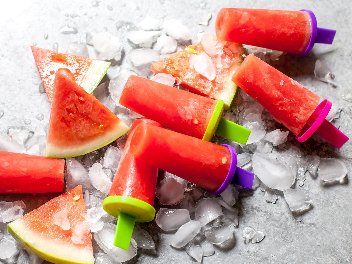 3-Ingredient Watermelon Pops