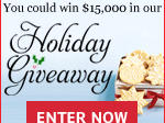 Cooking Light $15,000 Holiday Giveaway