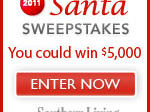 Southern Living Santa Sweepstakes