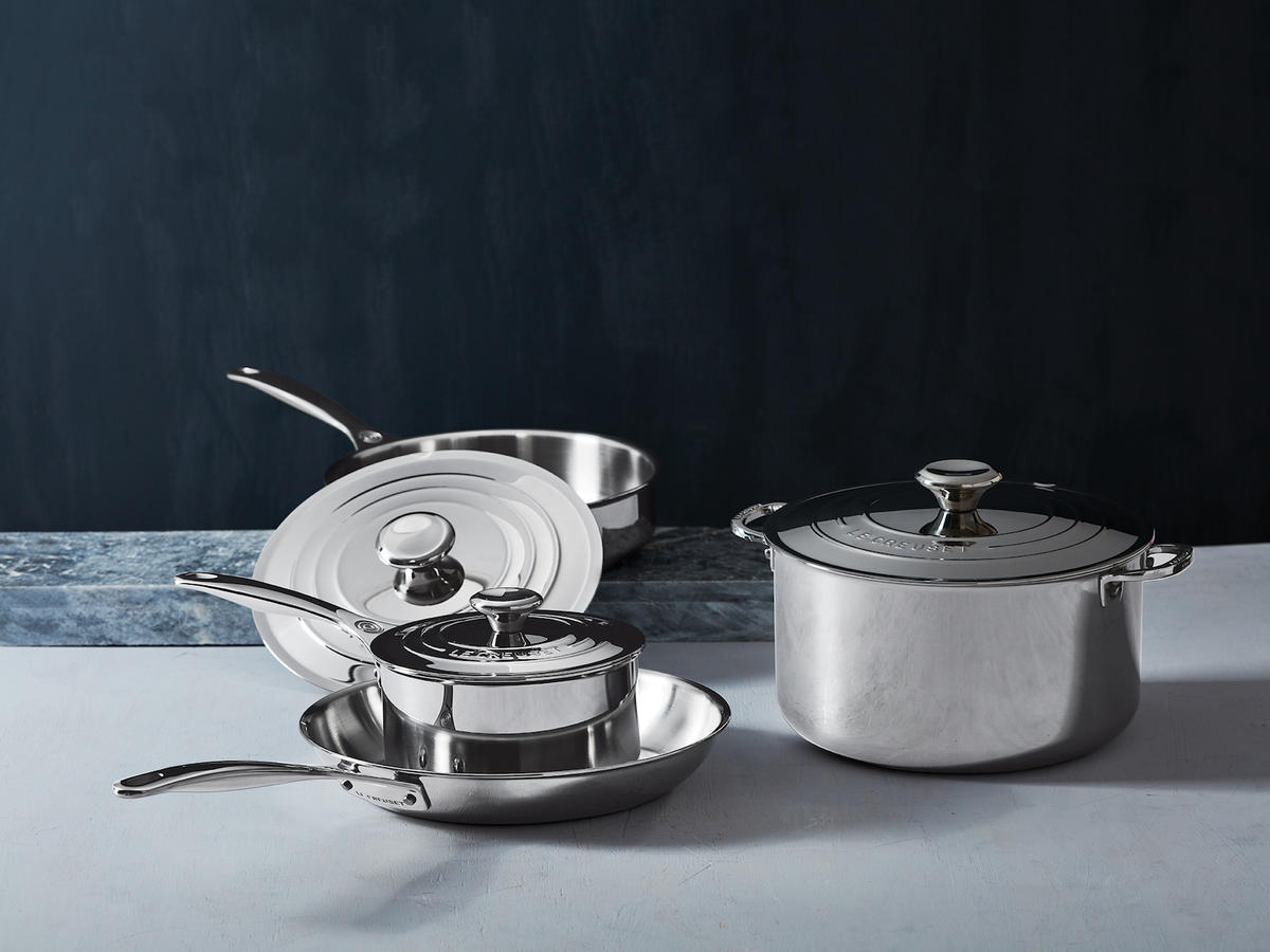 Le Creuset stainless steel