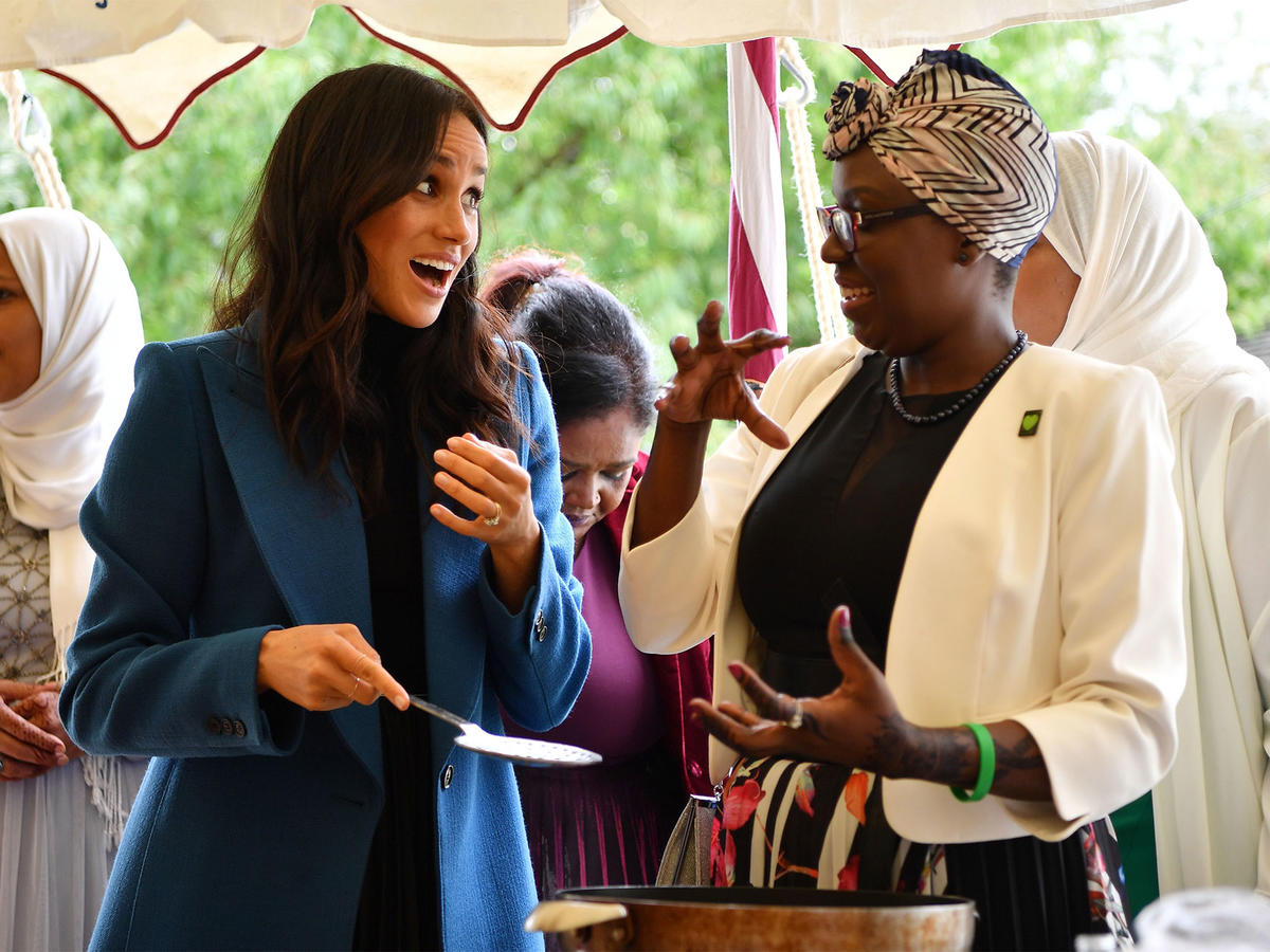 See What Meghan Markle Served at Her First Palace Lunch (and Get the Royal-Approved Recipes!)