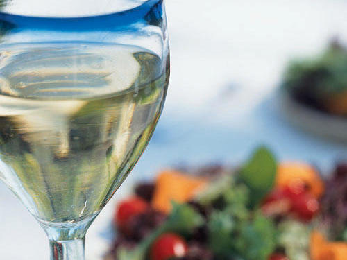 Wine and salad are the perfect summer pair.