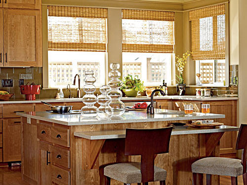 Explore the kitchen in our 2008 FitHouse in Portland, Oregon.