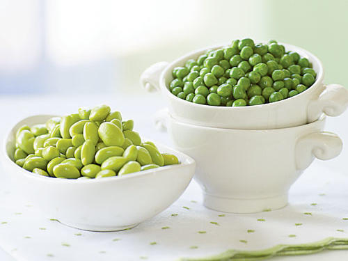 Edamame and English Peas