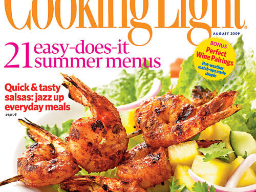 August 2009 Cover of Cooking Light