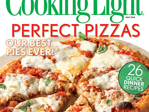 Cooking Light May 2010 Cover