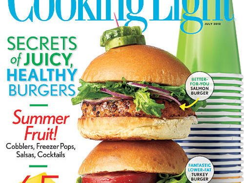 Cooking Light July 2010 Cover