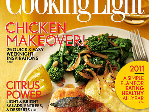 Cooking Light January/February 2011 Cover