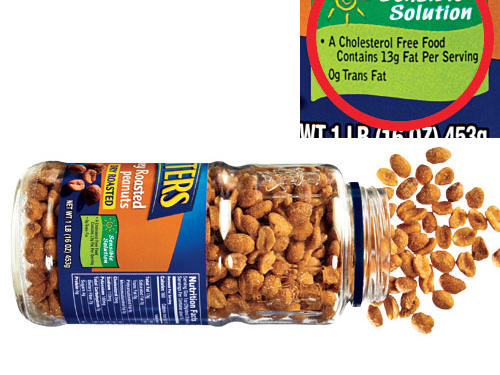 Kraft Sensible Solution Nutrition Label