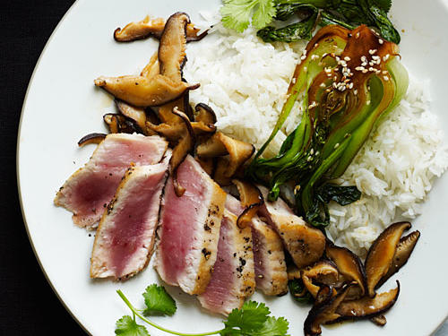 Sesame Albacore Tuna Recipe
