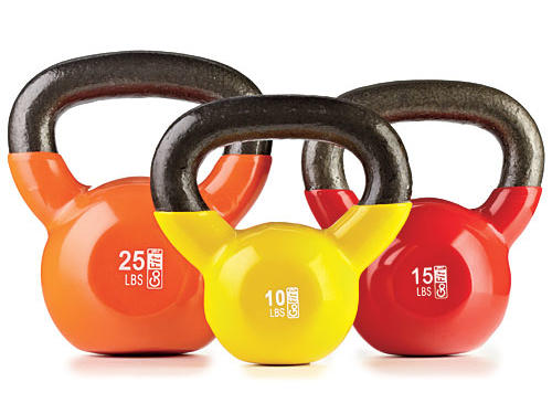 Assorted Kettleballs