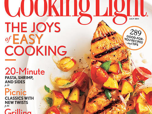 Cooking Light July 2011 Cover