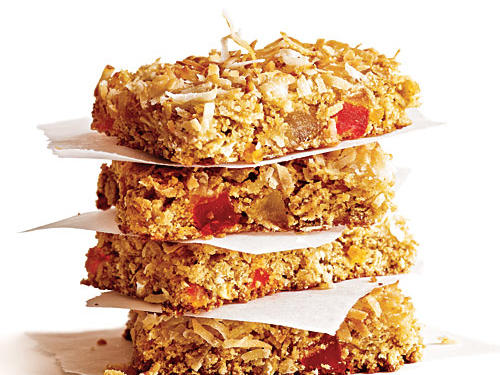 Chewy Coconut Granola Bars Recipe