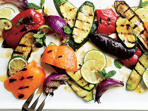 Miso Grilled Vegetables Recipe