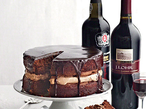 Chocolate Cake Wine Pairing