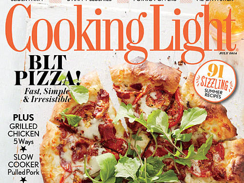 Cooking Light July 2014 Cover