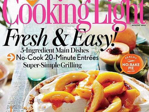 Cooking Light August 2014 Cover