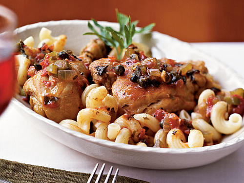 Chicken Cacciatore Sicilian-Style Recipes