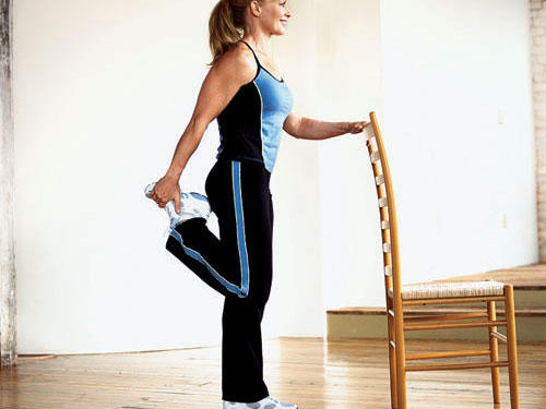 Walking with Gin: Get a Leg up on Flexibility