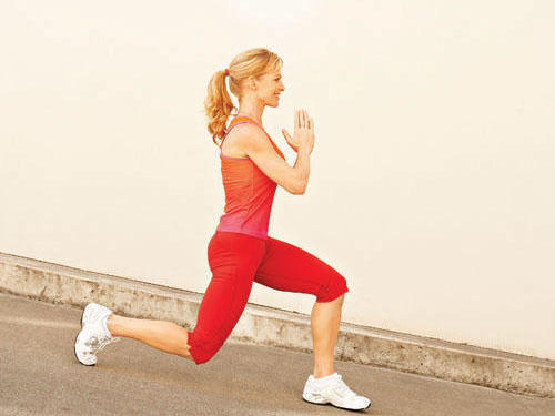 Strengthen glutes and thighs