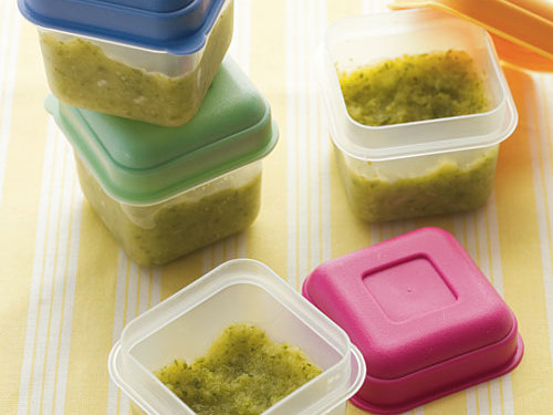 Storing Baby Food in the Fridge