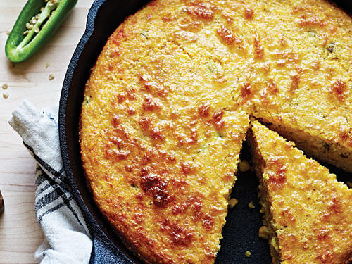 Spicy Jalapeño Corn Bread