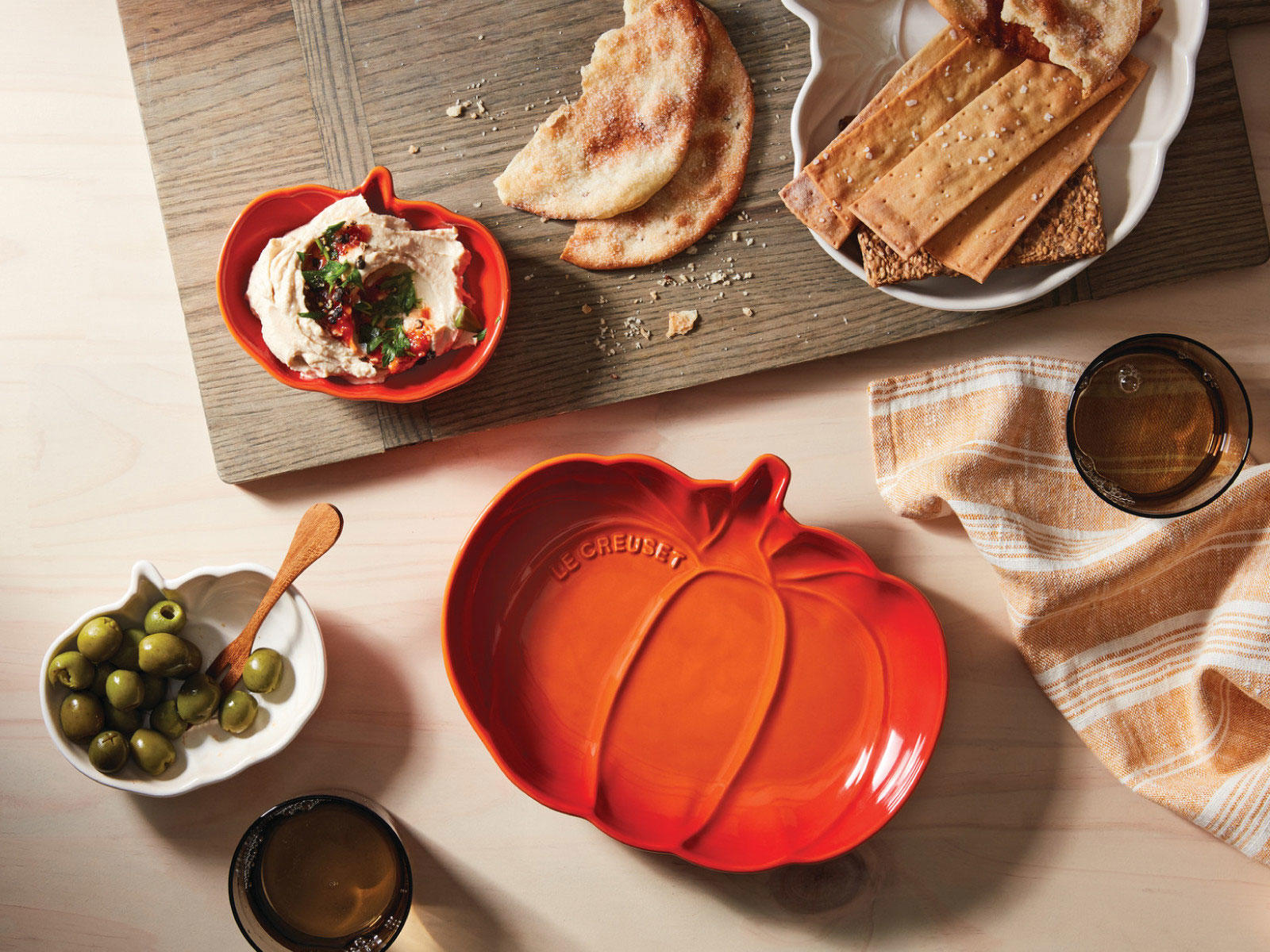 Le Creuset Just Launched the Cutest New Line of Pumpkin-Theme