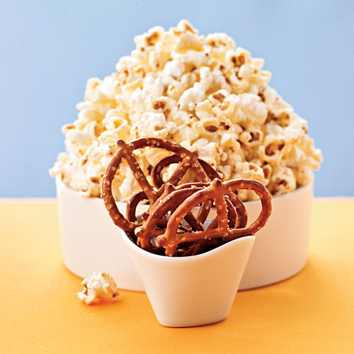 Take Two: Popcorn & Pretzels