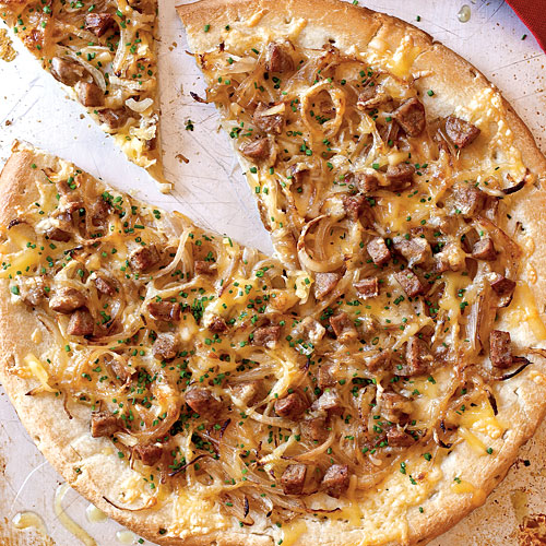 Chicken Sausage, Sweet Onion, and Fennel Pizza recipes