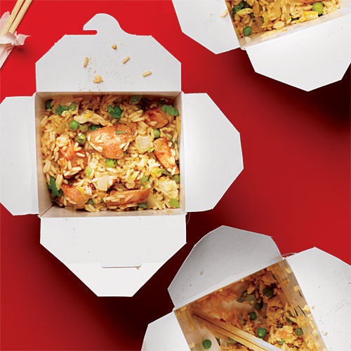 Chicken Fried Rice Takeout Recipe Makeover