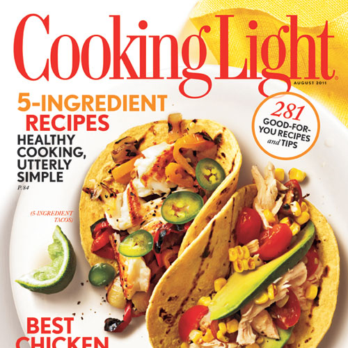 Cooking Light August 2011 Cover