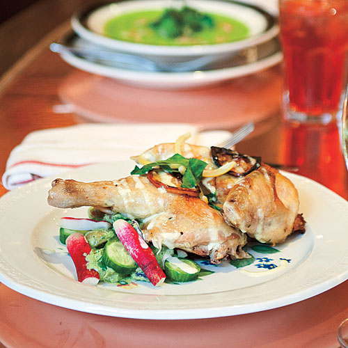Red Rooster's Oven-roasted chicken