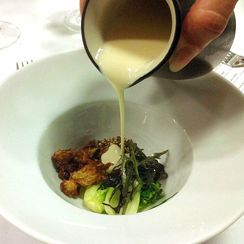 """Course 15: """"Cocotte of Brassicas"""""""