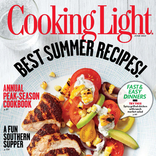 Cooking Light June 2013 Cover