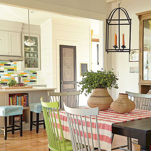 Kitchens Ideas Inspiration: Colorful DIY Kitchen Ideas