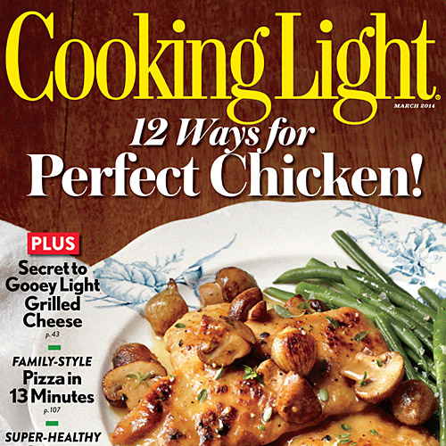 Cooking light magazine march 2014 magazine cooking light 55 healthy chicken thigh recipes forumfinder Gallery