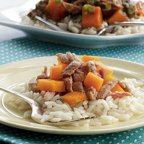 Pork and Squash Stir-Fry Recipe