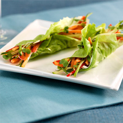 Marzetti - Smart Snack Tips: Veggie Wraps